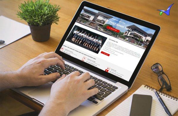 VIETSEO tiến hành thiết kế website theo đúng yêu cầu khách hàng